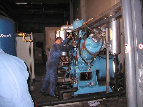 compressor system maintenance
